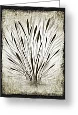 Ink Grass Greeting Card
