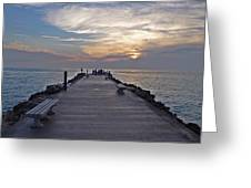 Inlet Fort Pierce Greeting Card