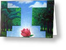 Inner Bliss Greeting Card