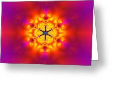 Inner Comet Greeting Card