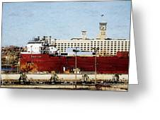 Inner Harbor Greeting Card