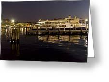Inner Harbor Tour Boat Greeting Card
