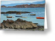 Inner Hebrides Transportaion Greeting Card