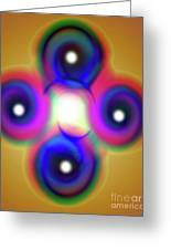 Inner Self Greeting Card by Rajendra Mongia