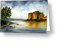 Innischonnel Castle Greeting Card