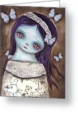 Innocence  Greeting Card by  Abril Andrade Griffith