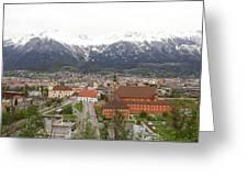 Innsbruck View Greeting Card