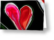 Inpaitient Heart For Haiti Greeting Card by Michelle  BarlondSmith