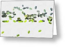 Insects Marching All Over Greeting Card