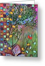 Inside The Garden Wall Greeting Card