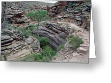Inside The Grand Canyon 03 Greeting Card