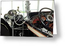 Inside The Packard - 2 Greeting Card