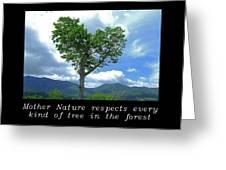 Inspirational-mother Nature Greeting Card