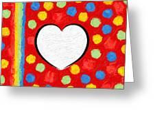 Insta Heart Greeting Card