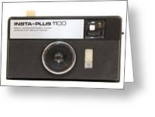 Instamatic Camera Greeting Card
