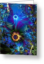Inter-dimensional Daisies Greeting Card