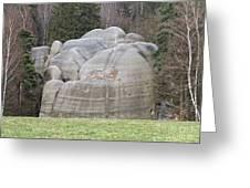 Interesting Rock Formation - Elephant Rocks Greeting Card