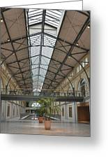 Interior Ferry Building San Fransisco Greeting Card