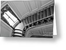 Interior Stairs Architecture  Greeting Card