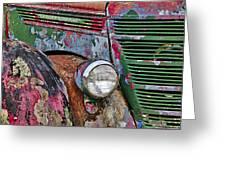 International Car Details Greeting Card
