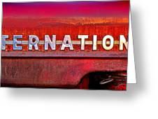 International  Greeting Card