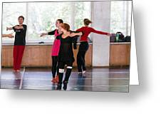 International Summer Dance School  Greeting Card