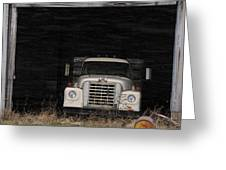 International Truck Greeting Card