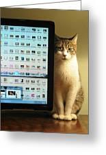 Desktop Security Greeting Card