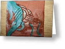 Interplay  - Tile Greeting Card