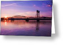 Interstate Bridge Greeting Card