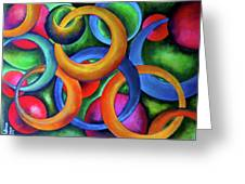 Intertwined Bonds Greeting Card