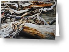 Intertwined Greeting Card by Chris Steinken