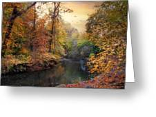 Intimate Autumn Greeting Card