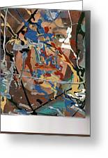 Into Abstraction Greeting Card