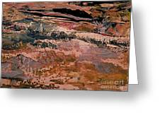 Into Fantasy Landscapes Greeting Card
