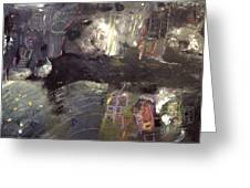 Into The Caves Greeting Card