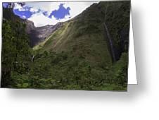 Into The Heart Of Kauai Greeting Card