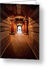 Into The Light Greeting Card