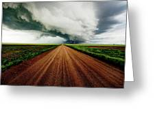 Into The Storm Greeting Card