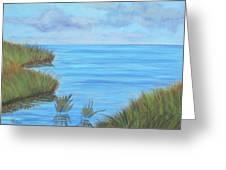 Intracoastal Waterway Greeting Card