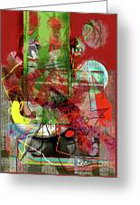 Introspection Greeting Card by Dean Gleisberg