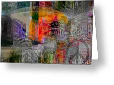 Intuitional Abstract Greeting Card