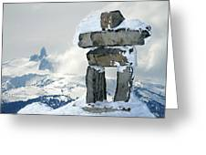 Inukchuk Whistler Greeting Card