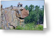 Inukshuk 4 Greeting Card