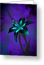 Inverse Lily Greeting Card