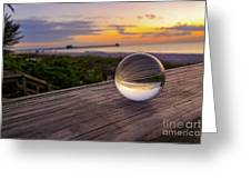 Inverse Sunset  Greeting Card