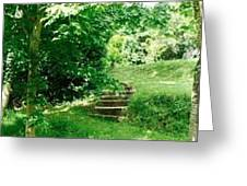 Inviting Steps In Ireland Greeting Card