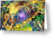 Inward Exploration Greeting Card