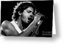 Inxs-94-michael-1319 Greeting Card