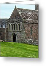 Iona Abbey Greeting Card